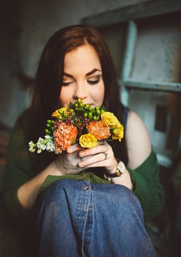 woman-flower-lady
